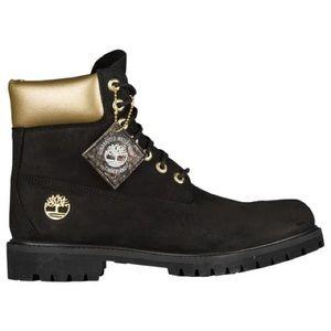 "Mens Timberland 6"" Premium Waterproof Boots Black"